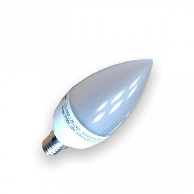 Bec LED 6W E14 Alb Neutru Lumanare