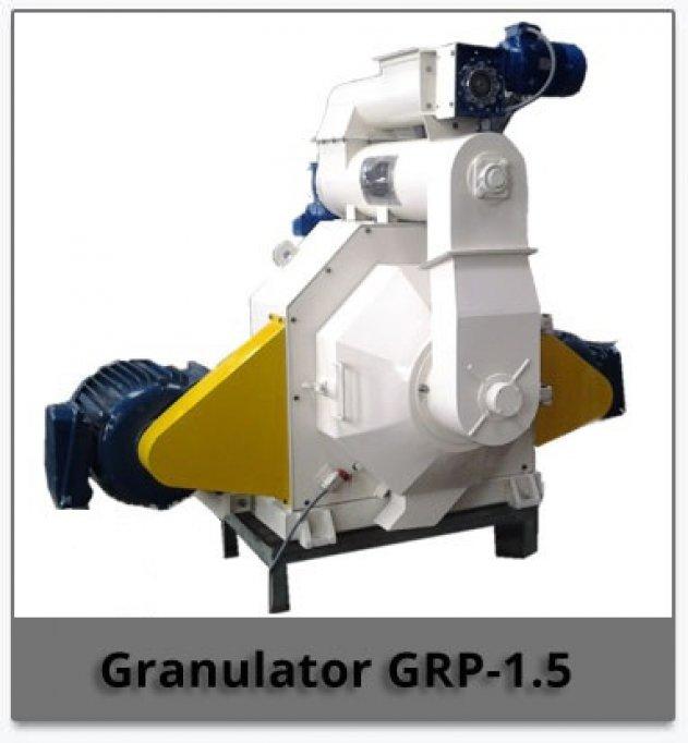 Presa peleti model GRP-1.5