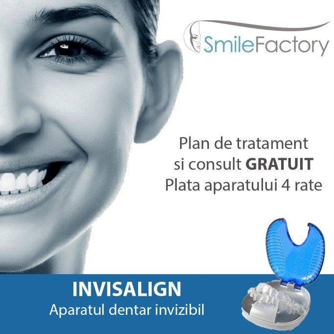 Oferta aparat dentar invizibil