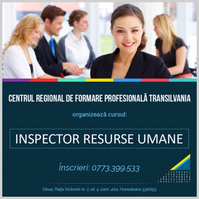 Curs Inspector Resurse Umane - Deva