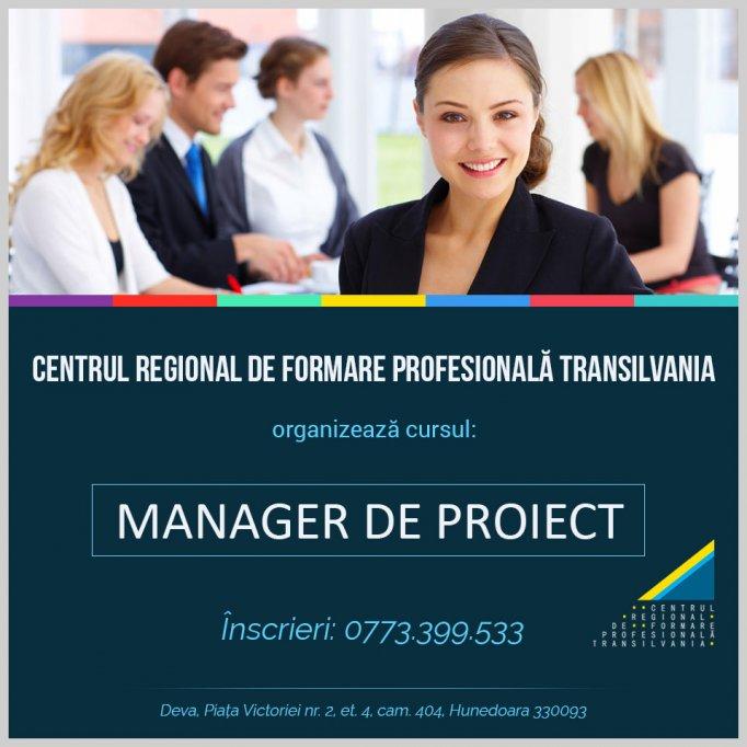 Curs Manager Proiect - Deva