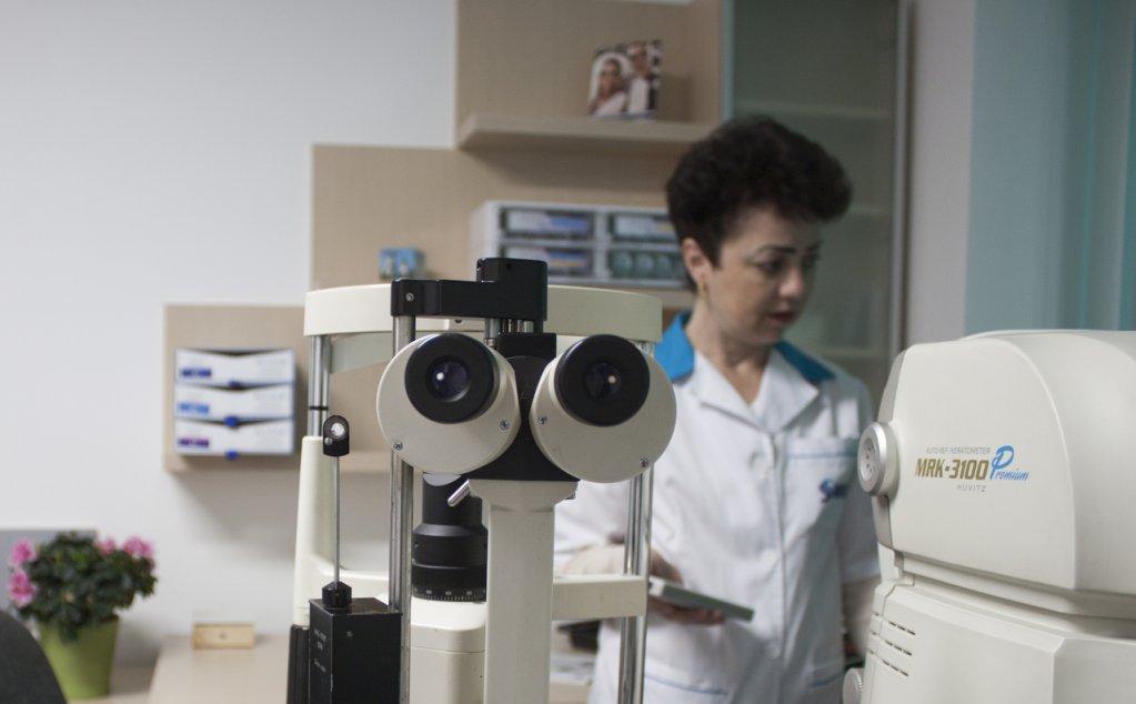 Consultatii oftalmologice in Bacau