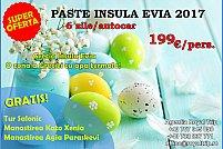 Paste in Insula Evia 199 € de persoana