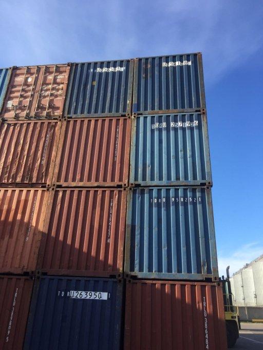 Containere martime vanari gama completa de dimensiuni