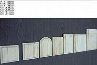 Vand diferse forme din lemn pentru pictat sau decorat