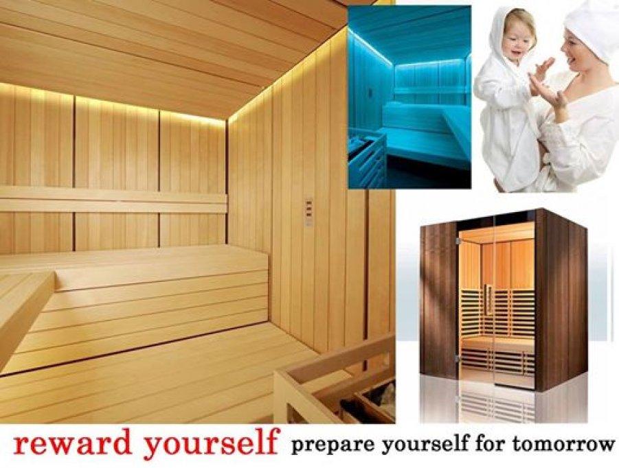 Saune la comanda personalizate,sauna mixta,saune de exterior,infrasaune si accesorii sauna