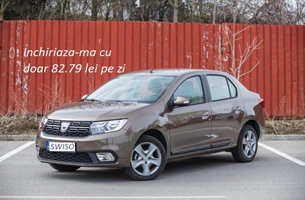 Servicii de rent a car in Bucuresti Dacia Logan 82.79 lei pe zi