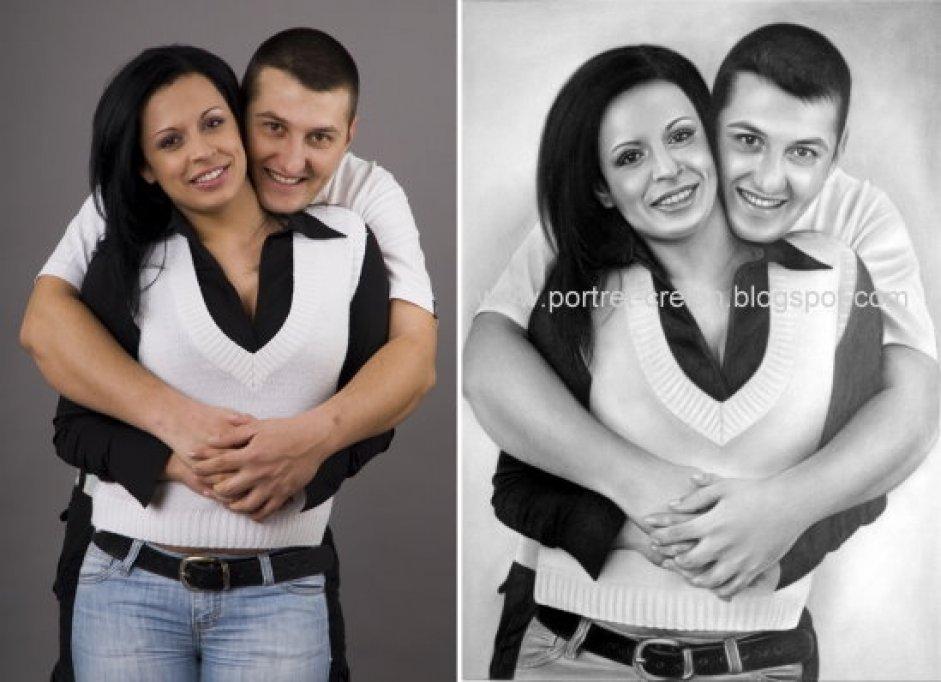 Portrete si caricaturi dupa fotografie