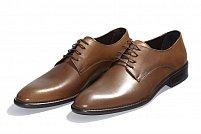 Pantofi pentru barbati marca Morris de culoare maro piele naturala