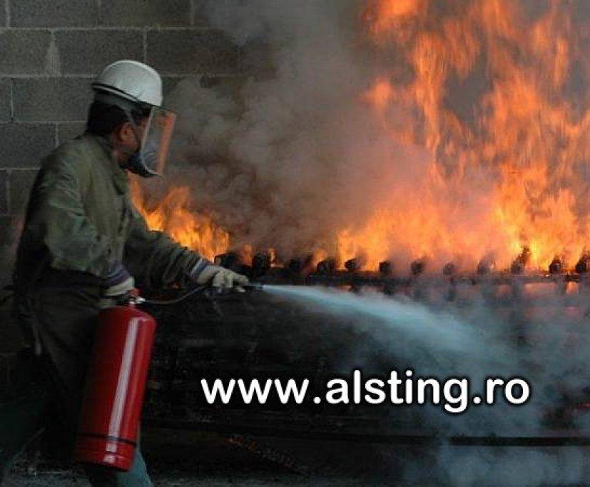 Cursuri de securitate in munca si stingatoare de incendiu