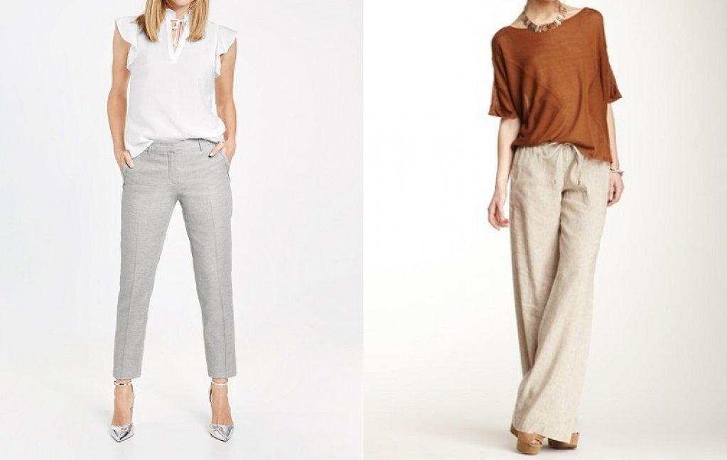 Pantalonii de in - cum alegi modelul potrivit