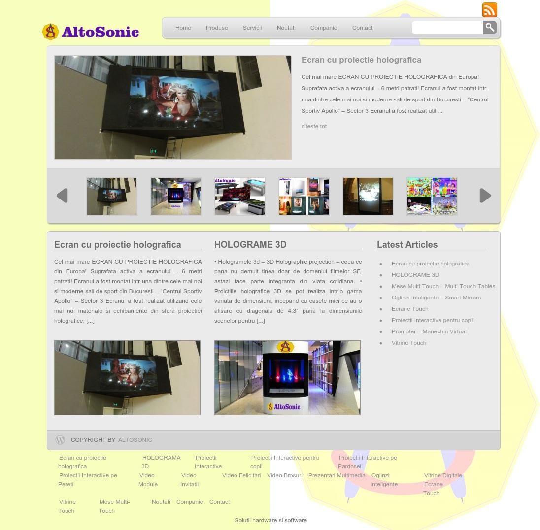 AltoSonic Software