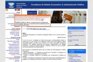 Facultatii de Stiinte Economice si Admin