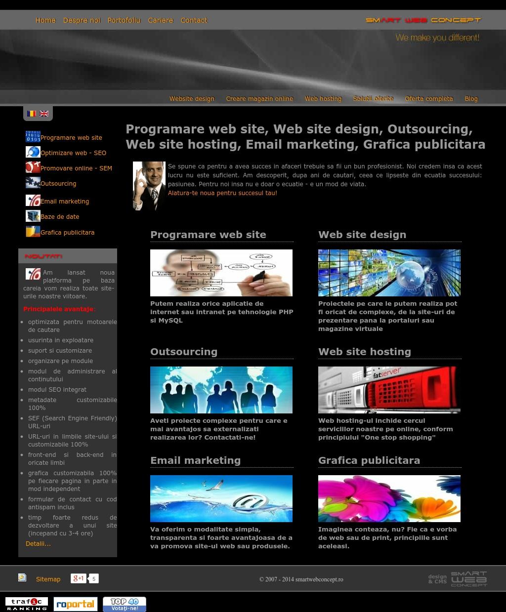 Smart Web Concept