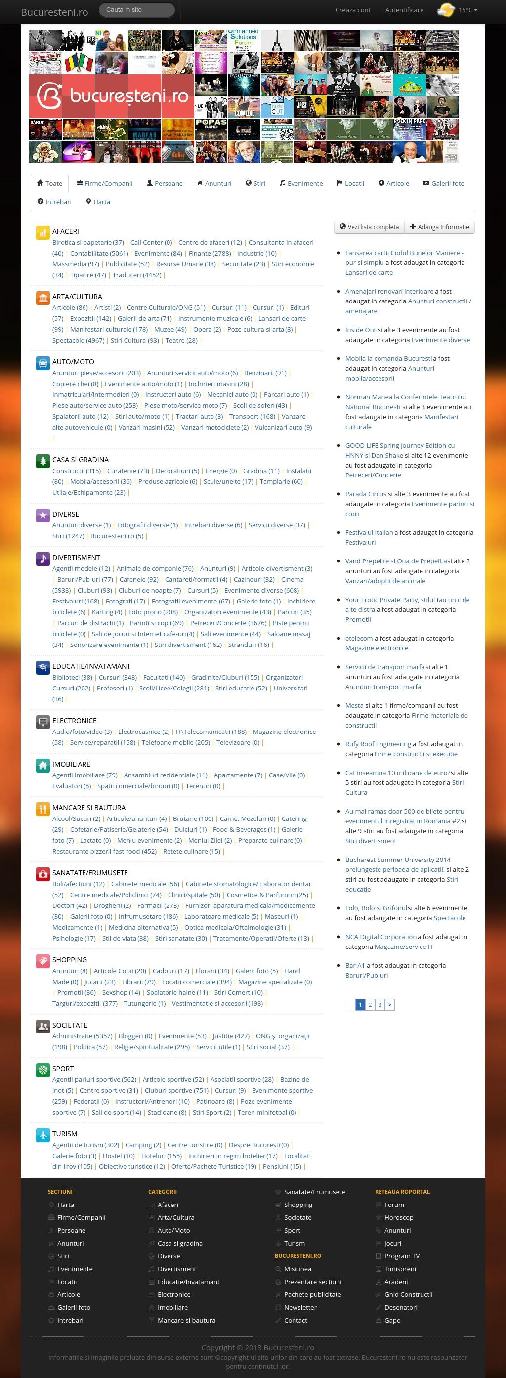 Bucuresteni.ro - publicitate on-line