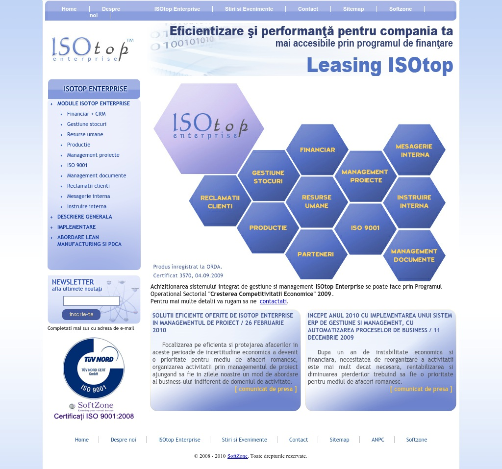 ISOtop Enterprise - your software ERP
