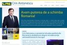 Crin Antonescu - Candidatul PNL la alegerile din 2009