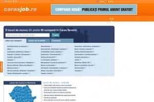 CarasJob - portal cu locuri de munca din Caras Severin