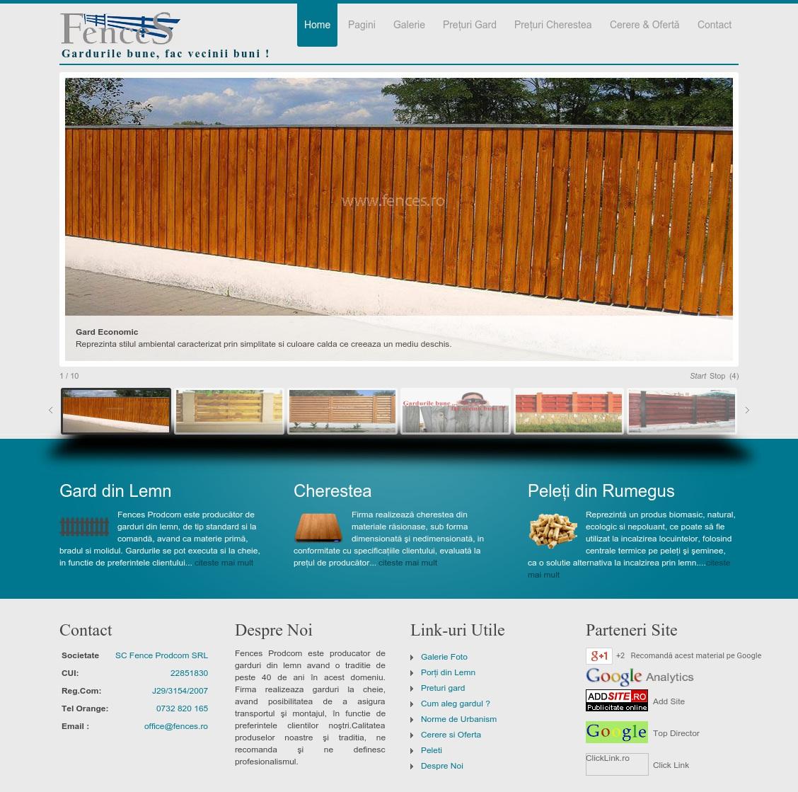 Fences Prodcom
