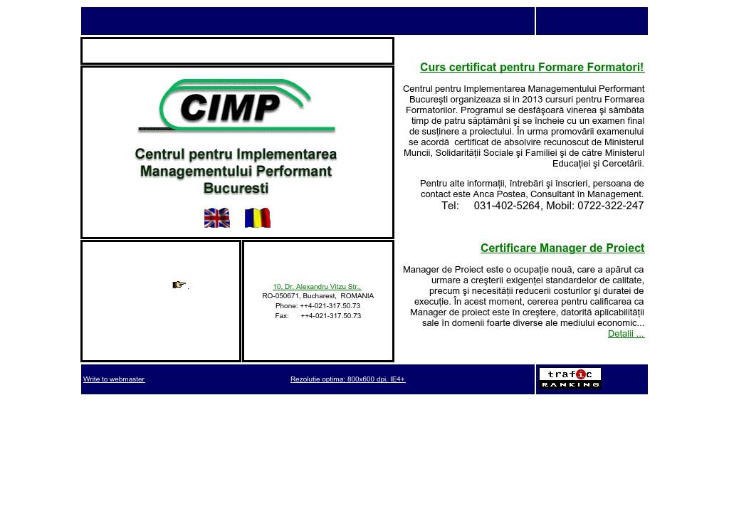 Centrul pentru implementarea Managementu