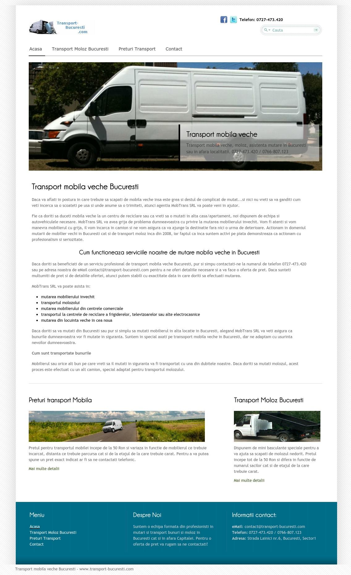 Transport Bucuresti