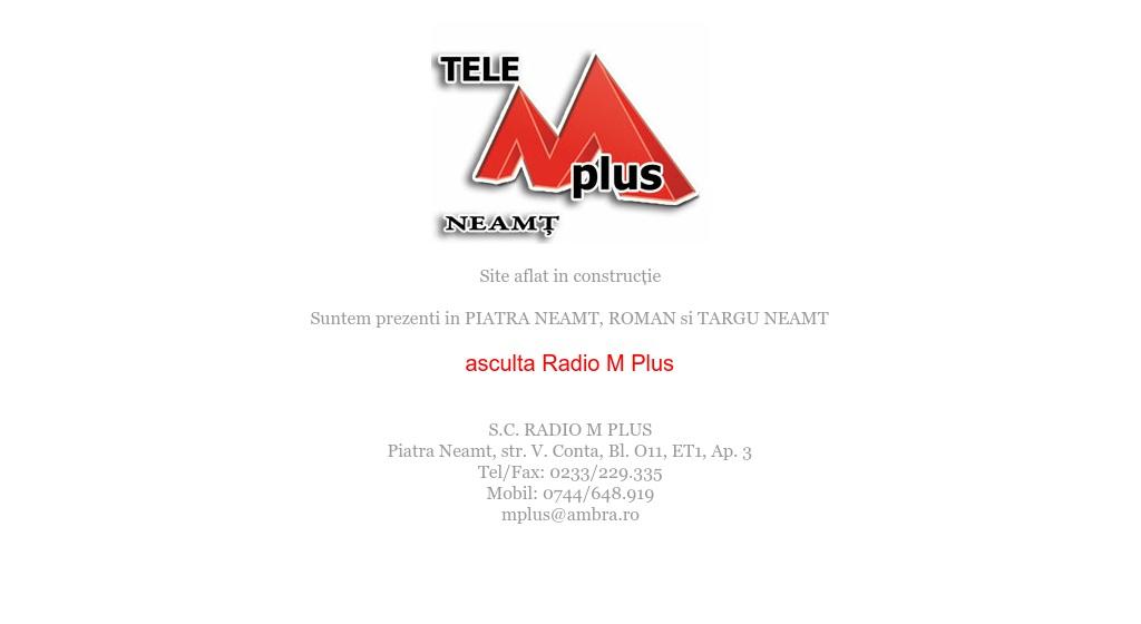 Tele M Plus Roman