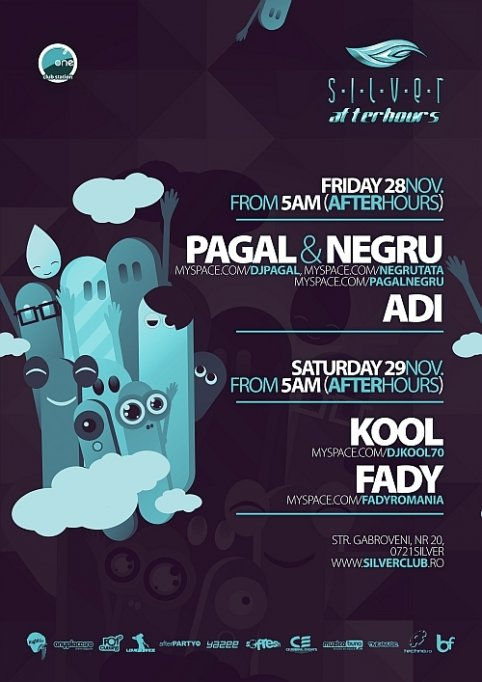 After Hours @ Club Silver 28-29 Nov