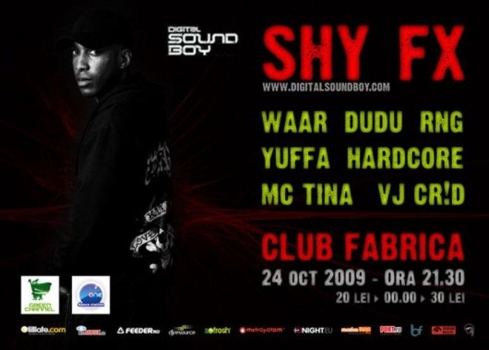 SHY FX in Club Fabrica