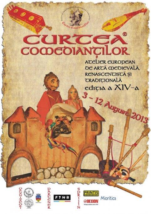 Curtea Comediantilor - Atelier de arta medievala, renascentista si traditionala, editia a XIV-a