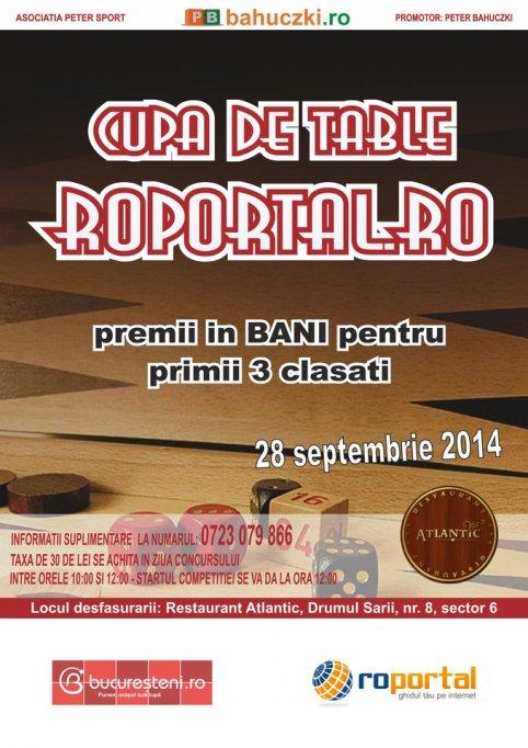 Cupa de Table Roportal.ro