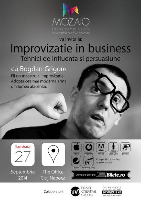 Improvizatie in Business cu Bogdan Grigore