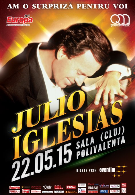 Julio Iglesias - Cluj