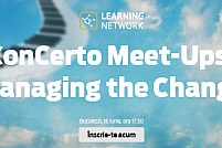 ConCerto Meet-Ups - Managing the Change, 16 iunie