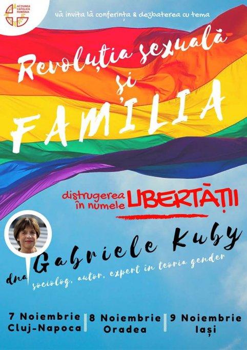 Gabriele Kuby revine în România pentru o serie de conferințe despre revoluția sexuală