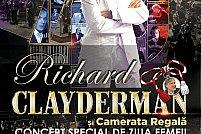 Richard Clayderman şi Camerata Regală în turneu național, special de Ziua Femeii
