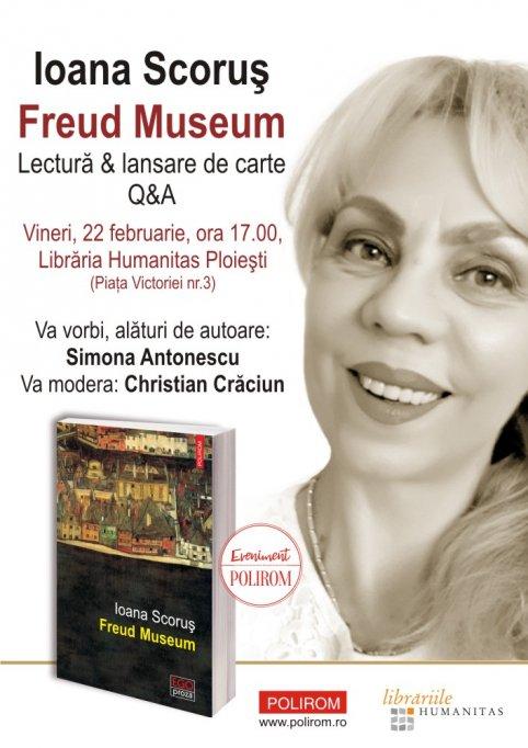 Lansarea volumului Freud Museum de Ioana Scorus