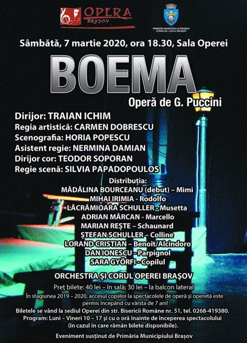 Boema de G. Puccini