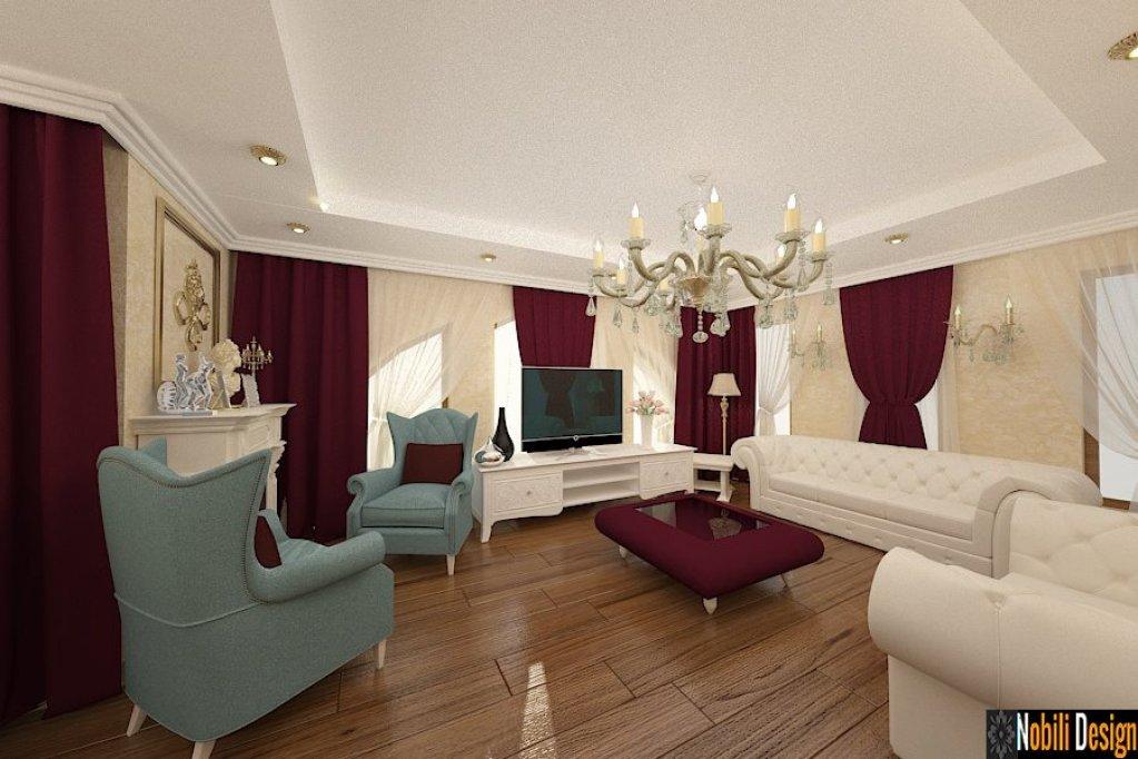 Design interior pentru vila cu mobila italiana