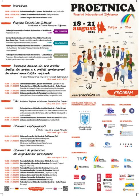 Festivalul ProEtnica, ediția a XIV-a, Sighișoara, la final