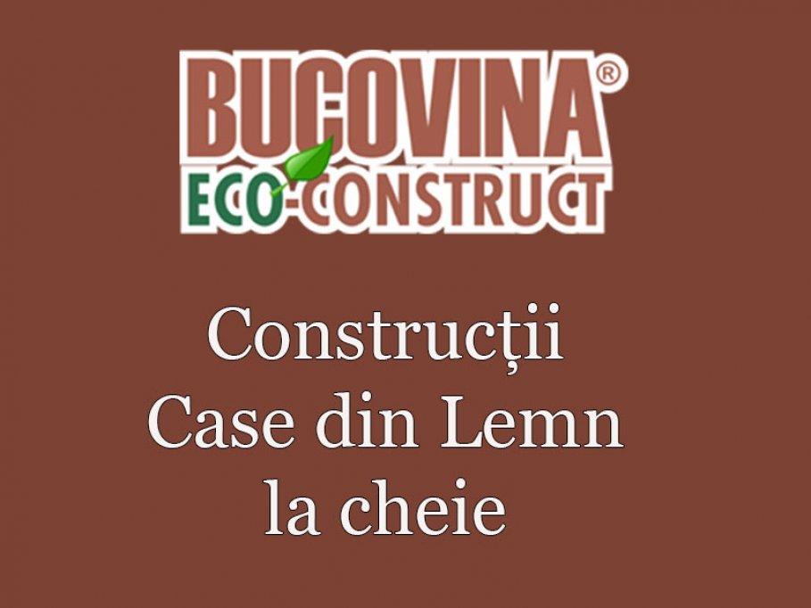 Bucovina Eco-Construct, construcţii case din lemn la cheie