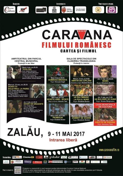 """""""Caravana filmului românesc"""" revine la Zalău"""