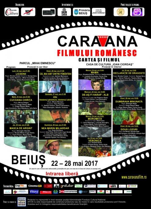 """""""Caravana filmului românesc"""" ajunge la Beiuş"""