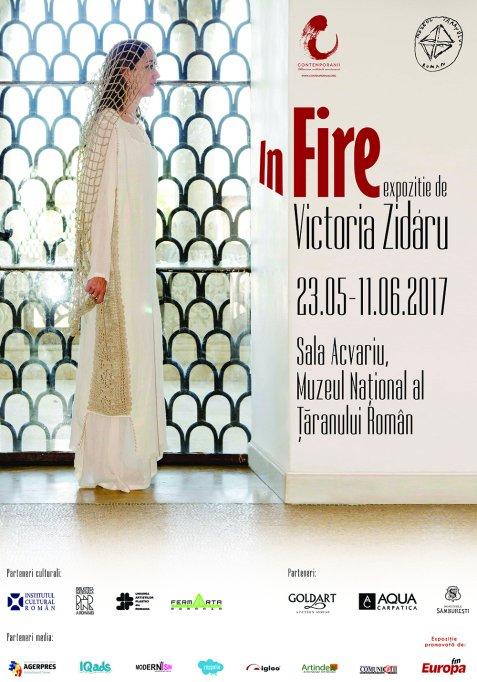 ÎN FIRE - Expoziție de vestimentație Victoria Zidaru