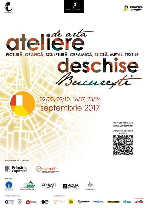 Ateliere de Artă Deschise în București, Ediția Enescu Weekendul - 16/17 septembrie 2017
