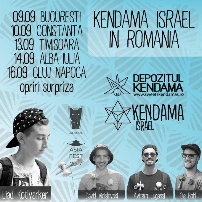 Cel mai iubit jucător Kendama din lume face cunoștință cu fanii români