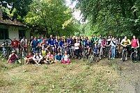 """Tura ciclistă bănăţeană """"Verde pentru Biciclete"""" 2017 nr. 6 din 16 septembrie 2017"""