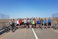 """Tura ciclistă bănăţeană """"Verde pentru Biciclete"""" 2017 nr. 5 din 9 septembrie 2017"""