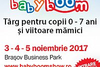 Baby Boom Show vine la Brasov cu noutati si oferte speciale