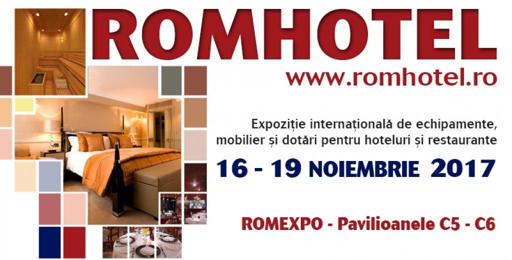 Peste 80 de companii din industria ospitalităţii expun la RomHotel 2017