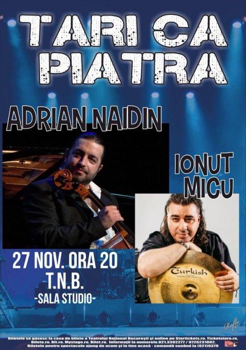 Violoncelistul Adrian Naidin revine în forță la Teatrul Național din București!